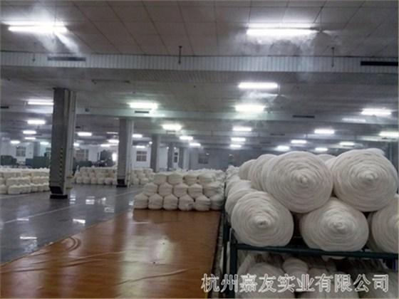 羊毛制品工业加湿器安装案例4
