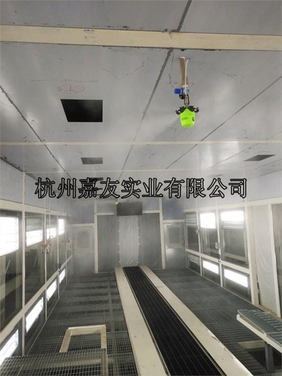 广汽集团打磨车间干雾加湿图1