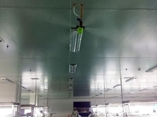 塑料制品车间除静电加湿