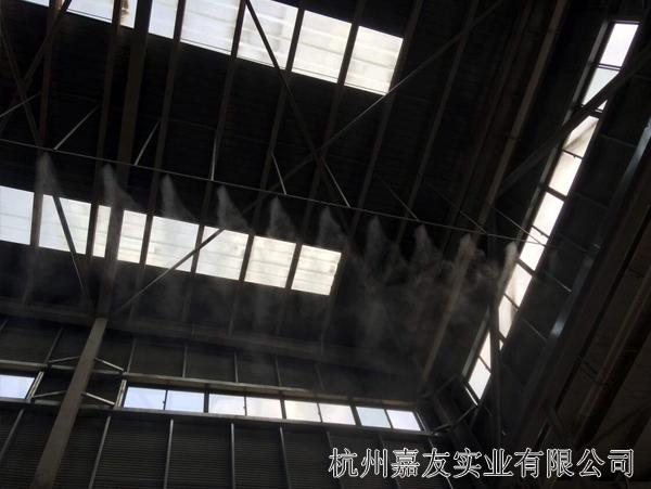 碎石车间喷雾降尘案例图4