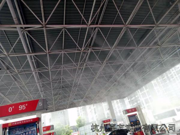江西加油站喷雾降温2