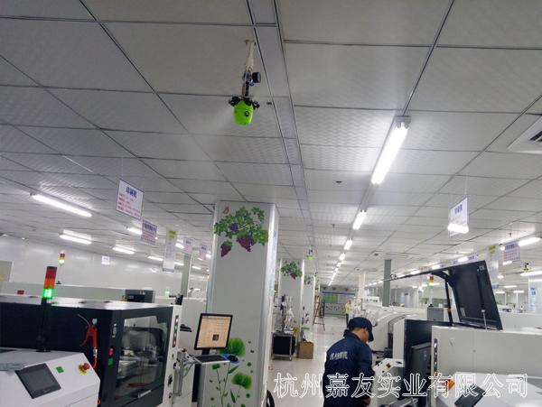 福建厦门某电子厂SMT车间加湿解决方案