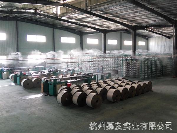 金华某纺织厂织布车间加湿解决方案