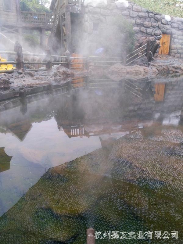 极地海洋公园喷雾降温4