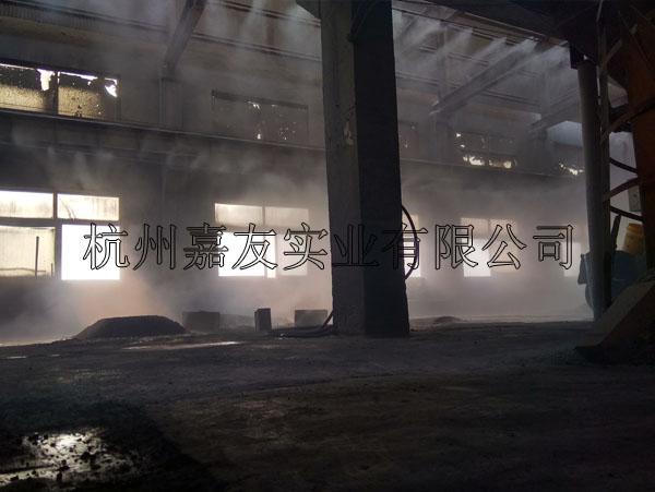 嘉兴东誉达环保材料有限公司喷雾降尘解决方案
