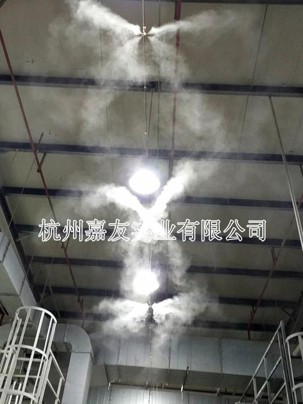 上海伟巴斯特汽车天窗车间加湿除静电解决方案