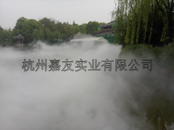 """东吴文化公园—""""雾王""""人造雾景观设备应用实例"""