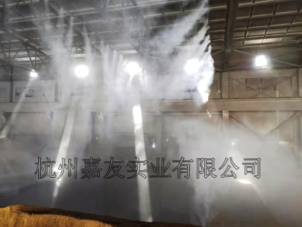 """蚌埠海螺水泥有限公司采用""""雾王""""高压喷雾除尘系统案例"""