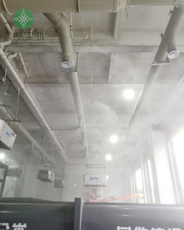 嘉兴志钊环保科技有限公司安装垃圾中转站消毒除臭设备