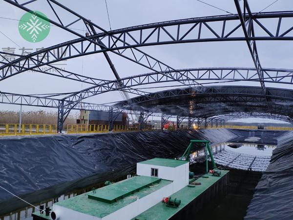 杭州嘉友携手怡科罗为上海老港生态环保基地安装喷雾除臭系统案例