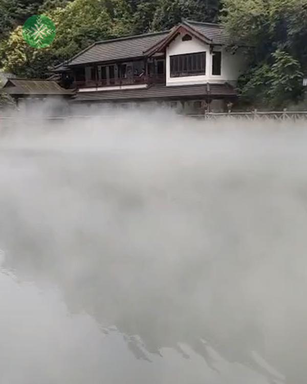 杭州嘉友为桐庐天子地景区安装雾森系统造雾降温