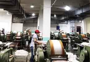 雾王为四川玉竹麻业有限公司安装纺纱厂加湿器