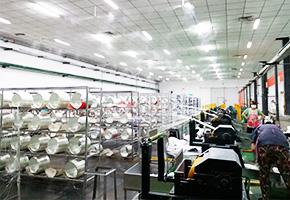 雾王客户山东玻纤集团玻璃纤维厂工业加湿器使用案例
