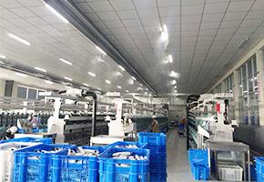 雾王客户江苏康源纺织公司纺织车间用加湿器案例