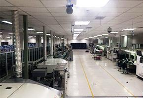 雾王中电集团第十四研究所电子车间除尘除静电加湿器案例