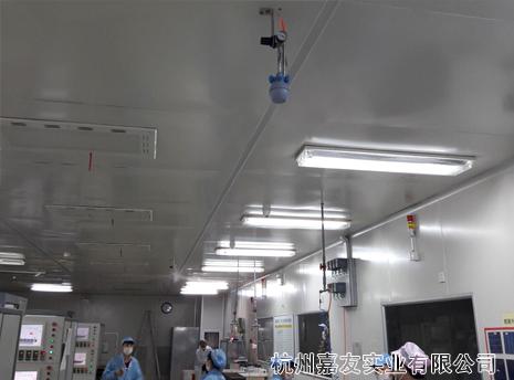 连云港光伏固化车间除尘除静电加湿器案例