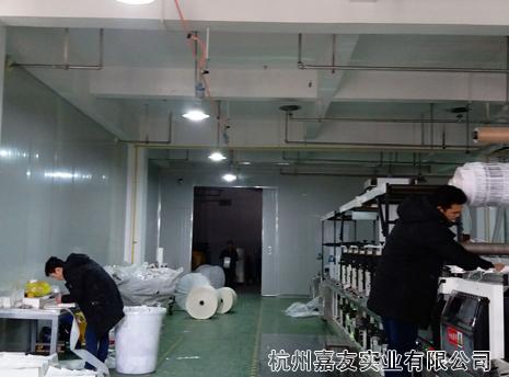 雾王杭州三朵花印刷务车间干雾加湿解决方案