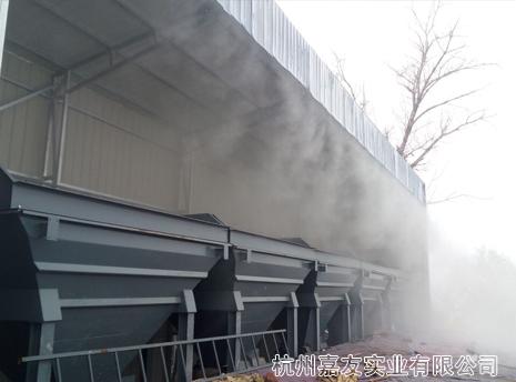 无锡华通公路机械有限公司选购雾王喷雾除尘系统