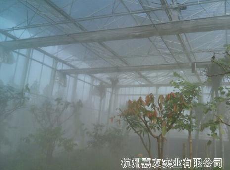 歌斐颂巧克力小镇可可森林植物园喷雾降温及加湿案例