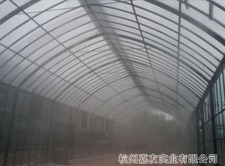 德清有机农场温室大棚喷雾加湿案例