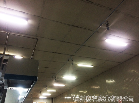 张家港印刷厂加湿除静电解决方案