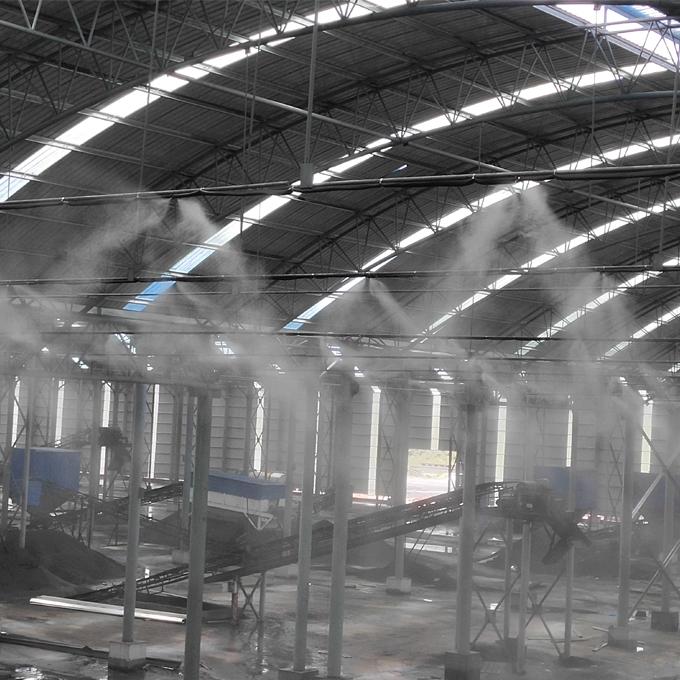 JY-WWGY煤场料棚喷雾除尘系统