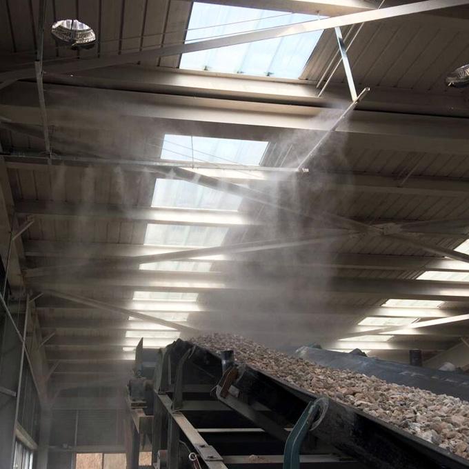 JY-WWGY碎石砂石厂喷雾除尘系统