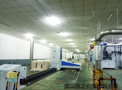 百隆(越南)有限公司纺织车间加湿器安装案例